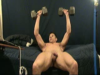 nudes weight training