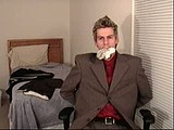 role playing business man webcam
