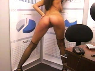Candy Brunet Is Your Office Slut