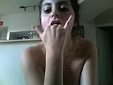 mela moore finger fucking her face webcam