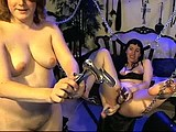 selkie and lilith play with toys and dp webcam