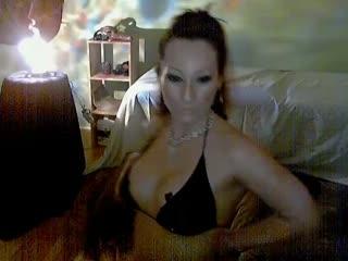 Mandy Honey doing a Strip Tease